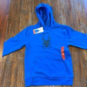 boys spider man hoodie